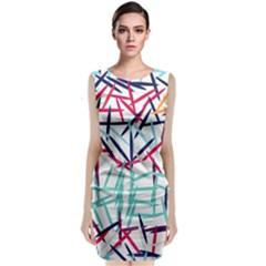 Strokes                       Classic Sleeveless Midi Dress