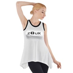 ZOUK DANCE Side Drop Tank Tunic
