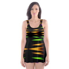 Fireworks and calming down Skater Dress Swimsuit