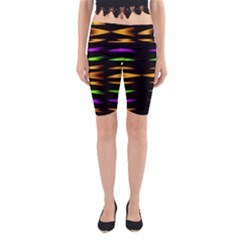 Fireworks and calming down Yoga Cropped Leggings