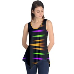 Fireworks and calming down Sleeveless Tunic