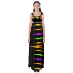 Fireworks and calming down Empire Waist Maxi Dress