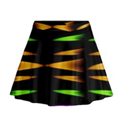 Fireworks And Calming Down Mini Flare Skirt
