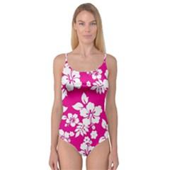 Pink Hawaiian Camisole Leotard