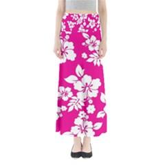 Pink Hawaiian Maxi Skirts