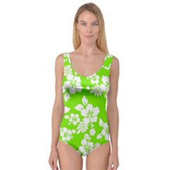 Lime Hawaiian Princess Tank Leotard