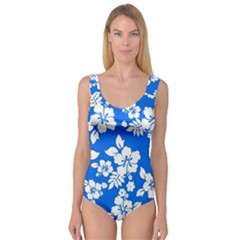 Blue Hawaiian Princess Tank Leotard