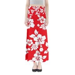 Red Hawaiian Maxi Skirts
