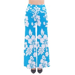 Light Blue Hawaiian Pants