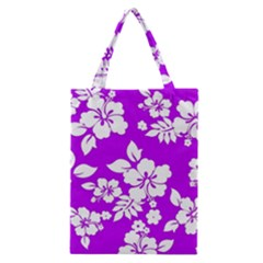 Purple Hawaiian Classic Tote Bag