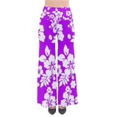 Purple Hawaiian Pants
