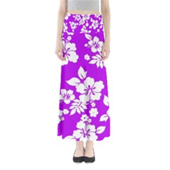 Purple Hawaiian Maxi Skirts
