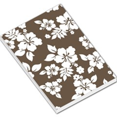 Sepia Hawaiian Large Memo Pads