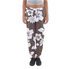 Sepia Hawaiian Women s Jogger Sweatpants