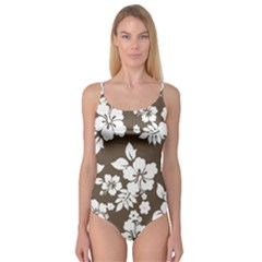 Sepia Hawaiian Camisole Leotard
