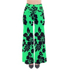 Dark Lime Hawaiian Pants
