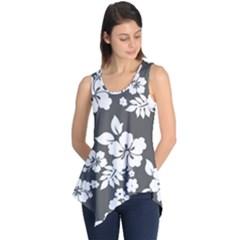 Gray Hawaiian Sleeveless Tunic