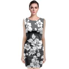 Gray Hawaiian Classic Sleeveless Midi Dress