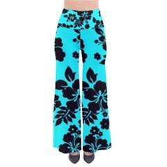 Blue Dark Hawaiian Pants
