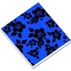 Dark Blue Hawaiian Small Memo Pads