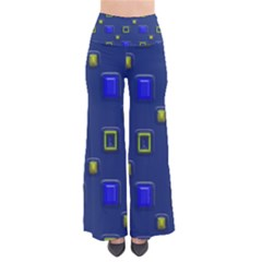 3d Rectangles                                                     Women s Chic Palazzo Pants
