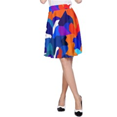 Classic New York Cty13 A-Line Skirt