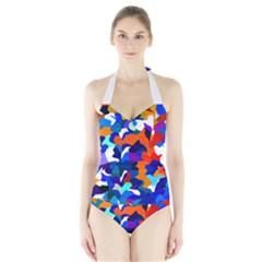 Classic New York Cty13 Halter Swimsuit