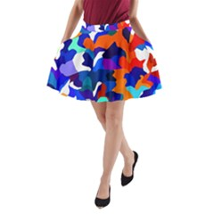 Classic New York Cty13 A Line Pocket Skirt
