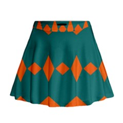 Rhombus and other shapes                                                                        Mini Flare Skirt