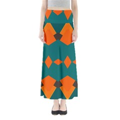 Rhombus and other shapes                        Women s Maxi Skirt
