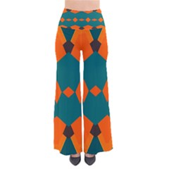 Rhombus and other shapes                                                     Women s Chic Palazzo Pants