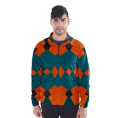 Rhombus and other shapes                                                                      Wind Breaker (Men)