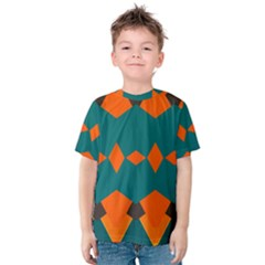Rhombus and other shapes                                                                      Kid s Cotton Tee