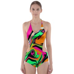 Lost Memory1 Cut-Out One Piece Swimsuit