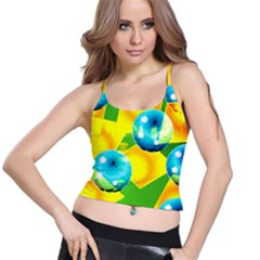COLORS OF BRAZIL Spaghetti Strap Bra Top