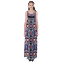 ZODIAC CODE Empire Waist Maxi Dress