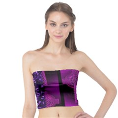 Purple Celtic Cross Tube Top