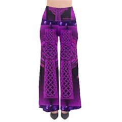 Purple Celtic Cross Pants