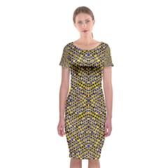 Uuuuuuu Classic Short Sleeve Midi Dress