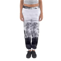 B&w Treescape Women s Jogger Sweatpants