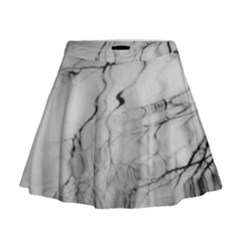 Tree Reflection Mini Flare Skirt