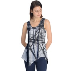 Tree Lines Sleeveless Tunic