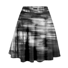 Tree Motion High Waist Skirt