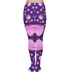 Magic Lotus In A Landscape Temple Of Love And Sun Women s Tights