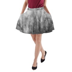 Obscure A-Line Pocket Skirt