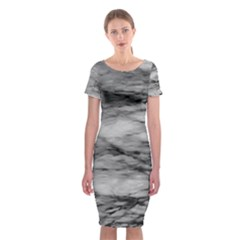 Forest Fade Classic Short Sleeve Midi Dress