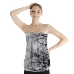 Forest Fade Strapless Top