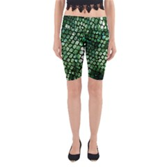 Dragon Scales Yoga Cropped Leggings