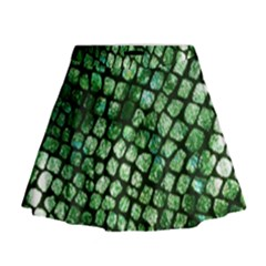Dragon Scales Mini Flare Skirt