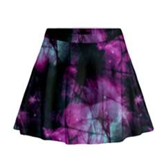 Celestial Pink Mini Flare Skirt